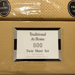 Traditional At Home 4pc Twin Sheet Set Sunflower